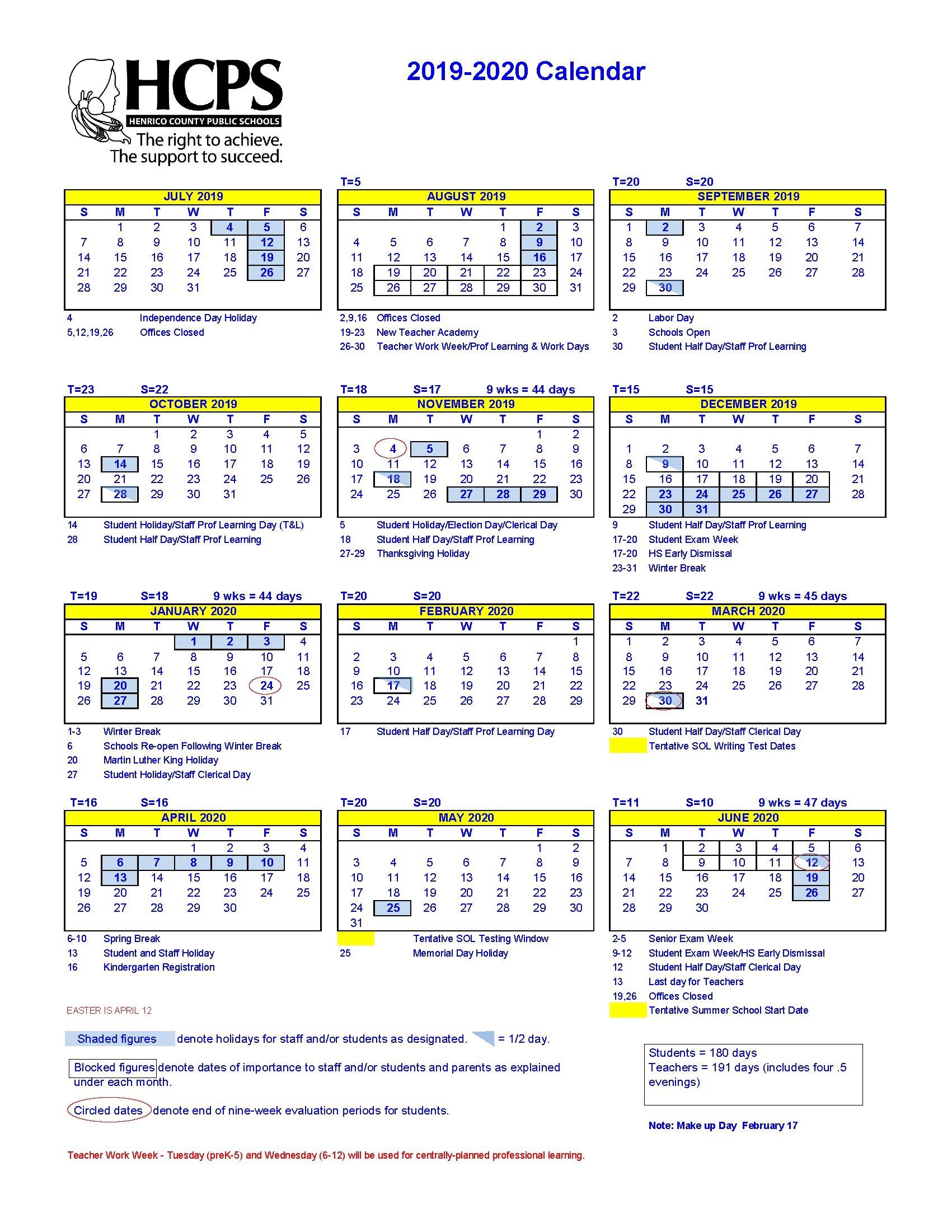 Martin County School Calendar 2021-2022 Remarkable School Calendar Martin County | School calendar