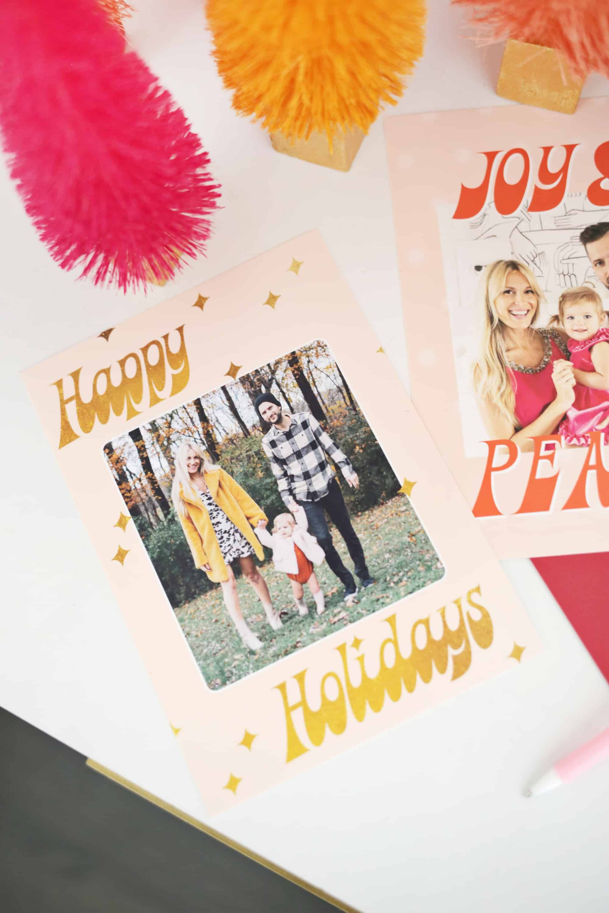 Printing Your Own Christmas Cards.Print Your Own Holiday Cards Free Template Included Snail