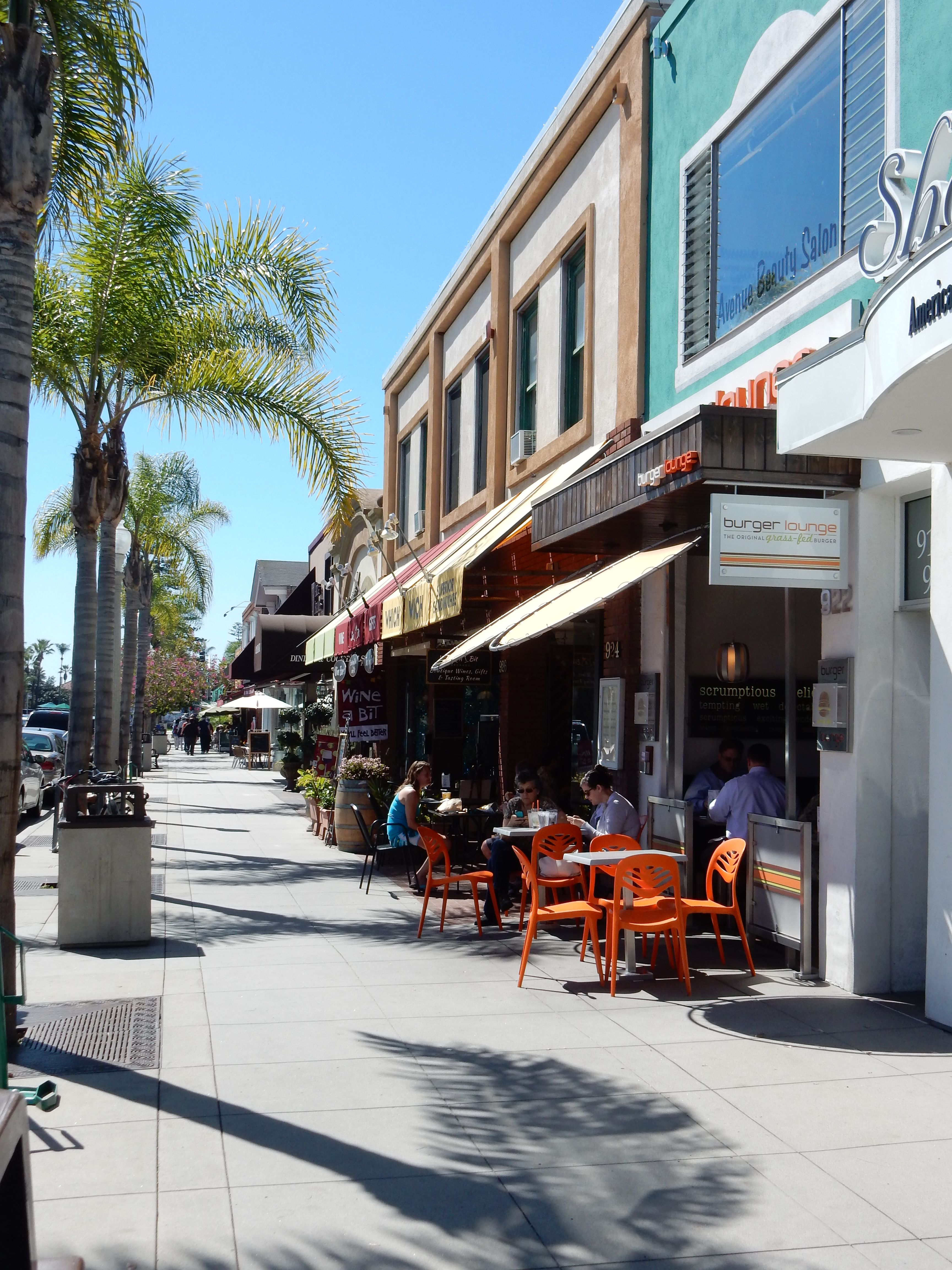 Shops, Galleries, Restaurants
