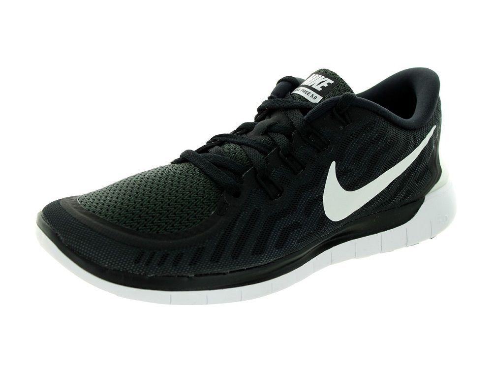 f242610b417d5 Nike Women s Free 5.0 Running Shoes 724383 002 Black White Grey Size 7.5   NikeAir  RunningCrossTrainingSneakers