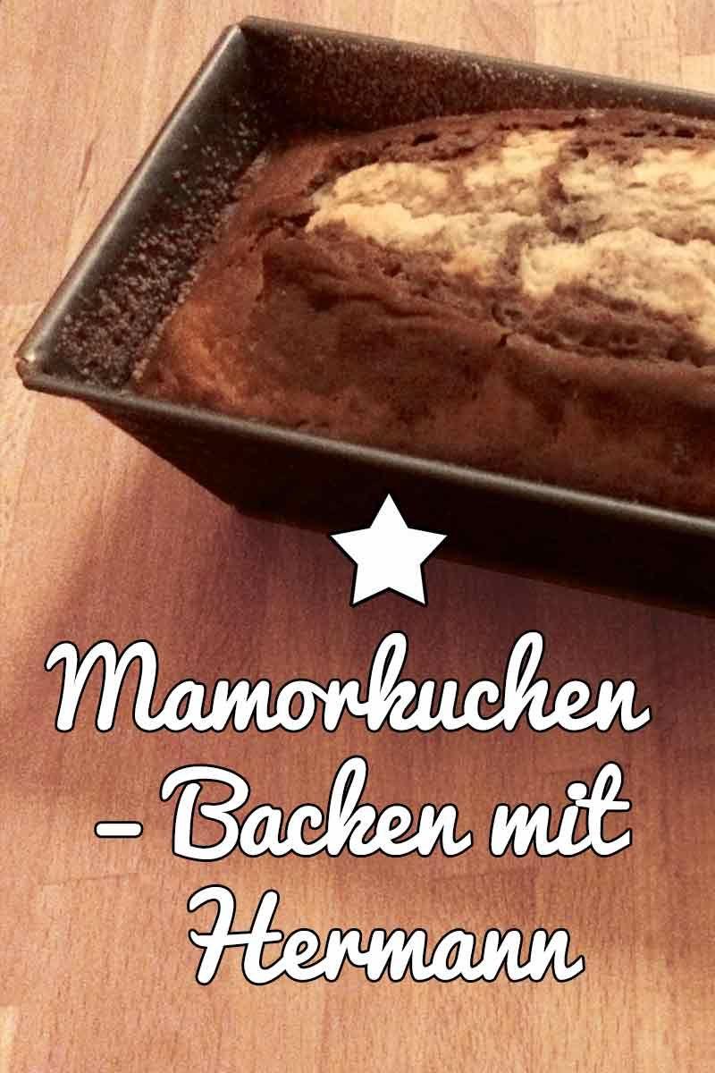 Ein Marmorkuchen Mit Hermann Teig Rezept Sauerteig Fermentation