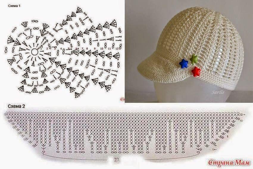 Padrões para encantar | crochê padrões | Prendas crochet | Pinterest ...