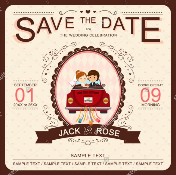 Image Result For Car Themed Wedding Invitations