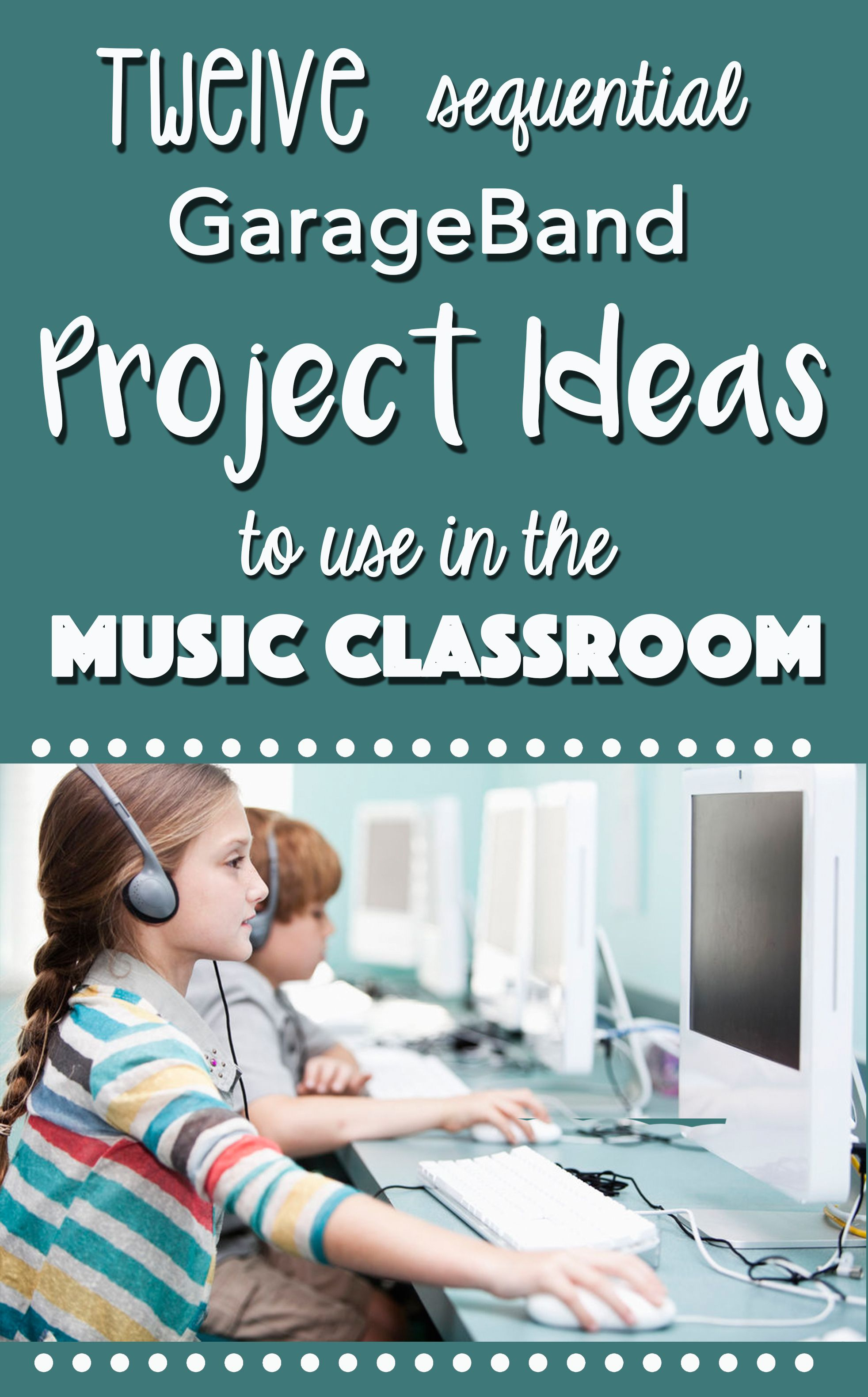 Music Technology Curriculum Bundle 12 Project Ideas