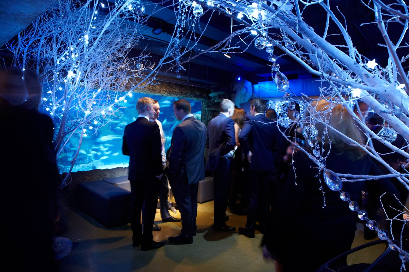 Christmas Party Ideas In London Part - 27: A Wonderland Themed Christmas Party At SEA LIFE London Aquarium. Our  Fabulous Theming Supplier,