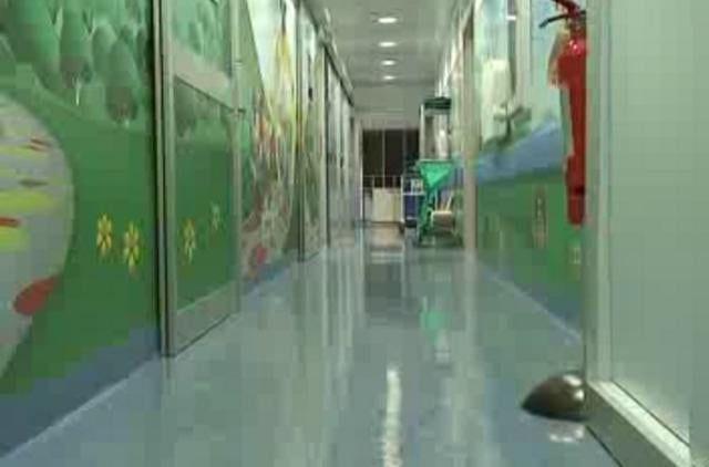 decorazione del reparto di radiologia dell'ospedale dei bambini Gaslini di Genova a cura di Sally Galotti per Disney - Philips