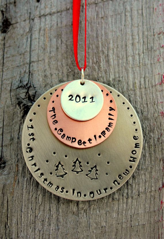 First married Christmas Ornament - Mr and Mrs Ornament - Our first