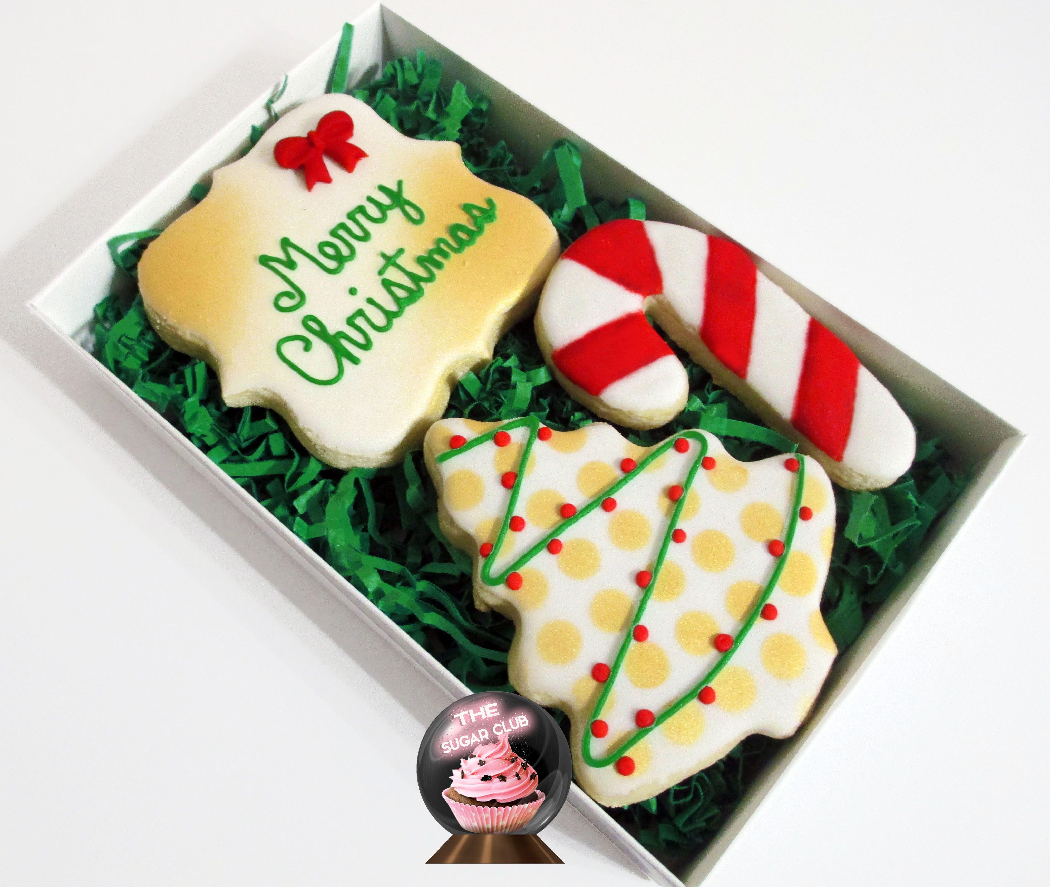 Christmas Cookies, Gifts Under 15, Sugar Cookies, Cookie Box, Secret ...