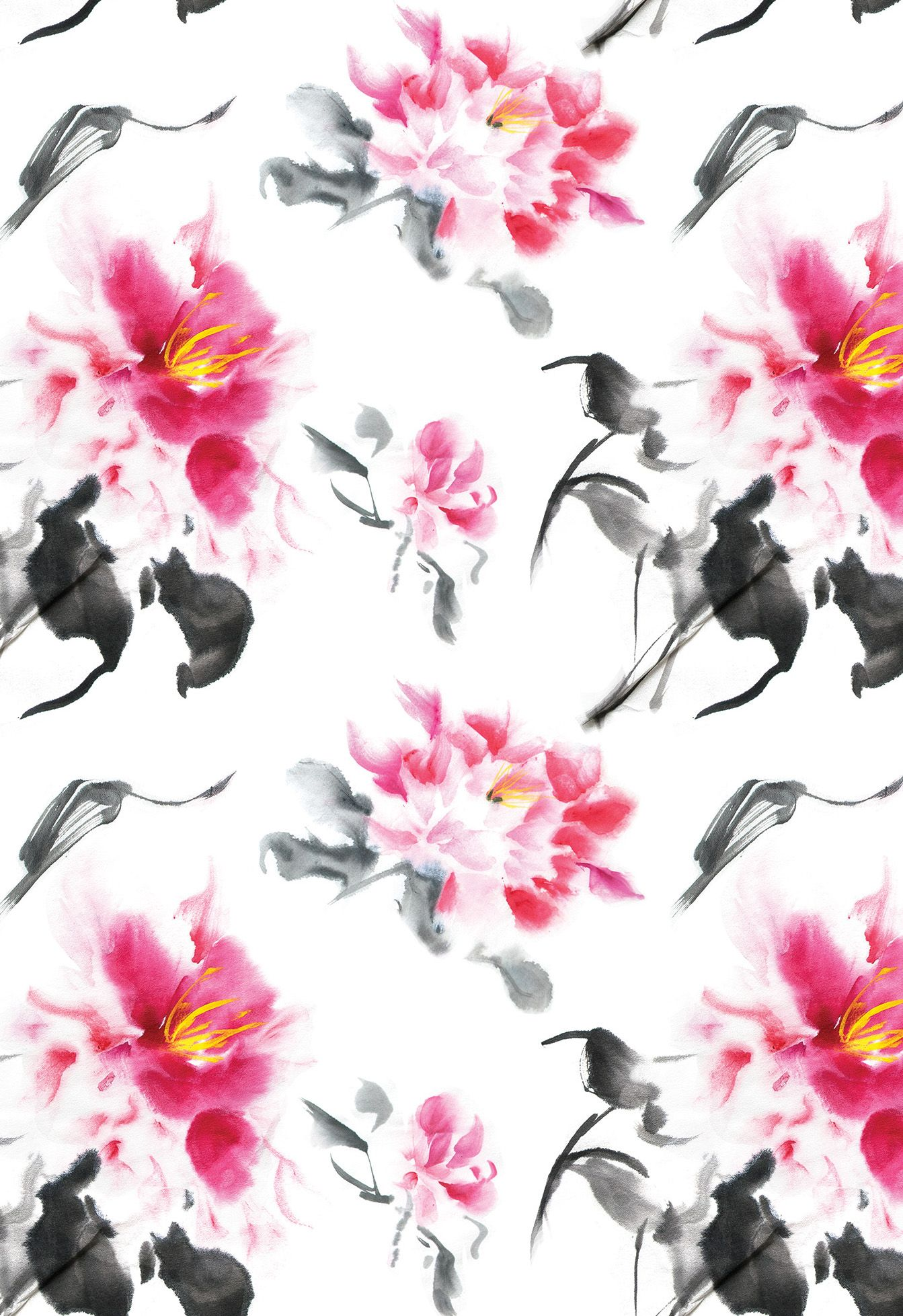Peonies Floral Wallpaper Mural Floral Glory On A Grand Scale