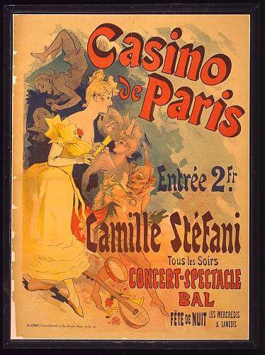 Casino de Paris - Vintage Poster