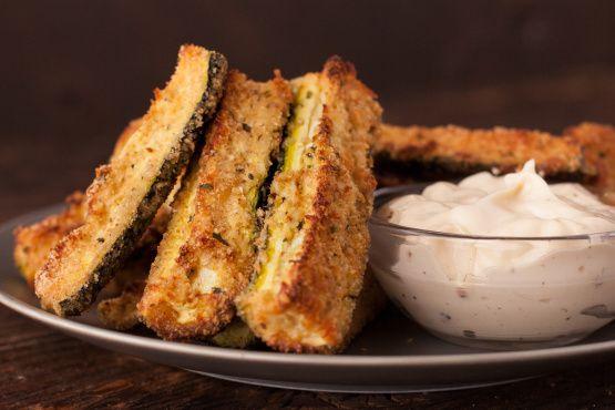 Wonderful Parmesan Zucchini Strips Recipe - Food.com