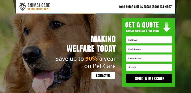 Best Pet Landing Page Design Inspiration Http