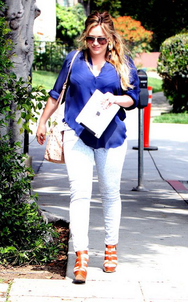 Hilary Duff postpartum first appearance out to the streets, Prince Luca Cruz Comrie come!