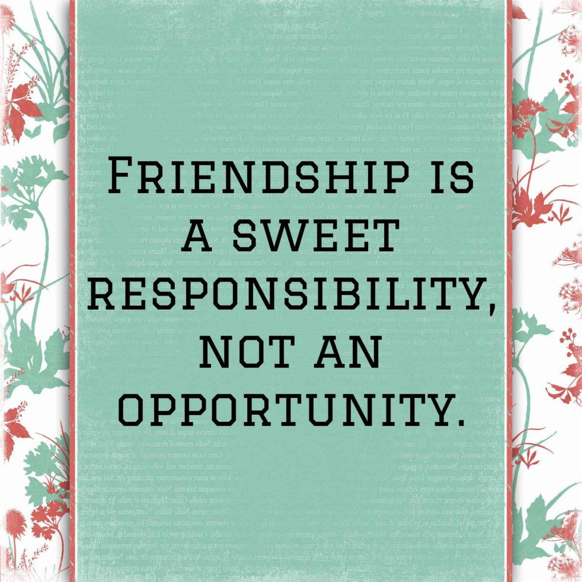 The Best Short and Sweet Friendship Quotes in 2020 | Sweet ...