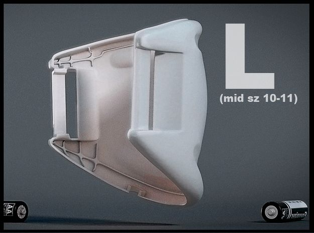 1156642ec867 Marty McFly Build Guide  Nike Mags ankle buckle 3D file (left).