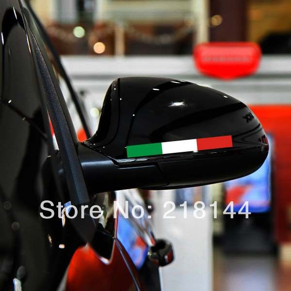 ITALY Car styling Car stickers and decals Reflitive Auto ...