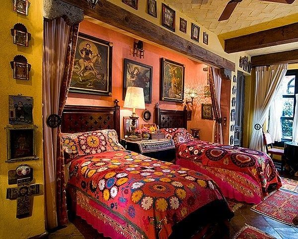 Mexican Style Bedrooms