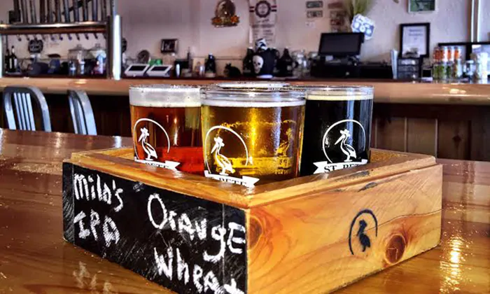 Beer Flights at St. Pete Brewing Company (Up to 35 Off