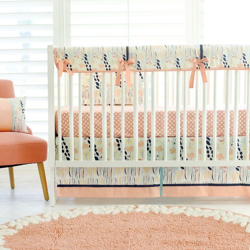 Fl Crib Bedding Set Summer Grove