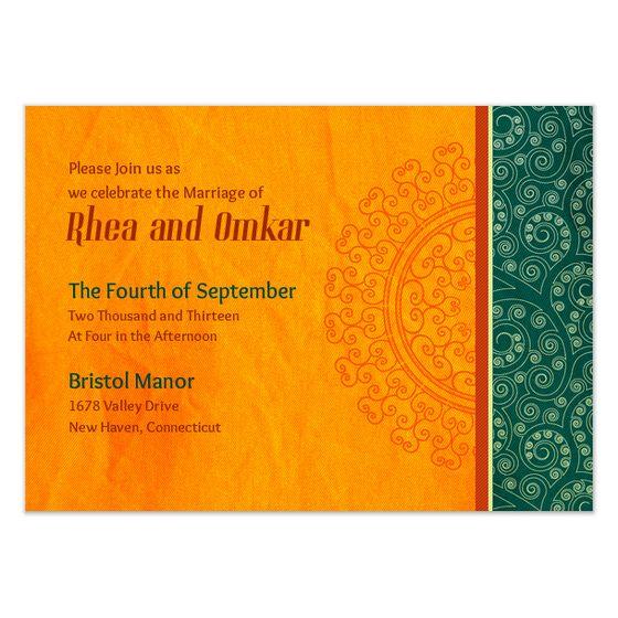 invite and ecard design Roundup Post E-Save-the-Dates + Wedding - fresh formal invitation letter in hindi