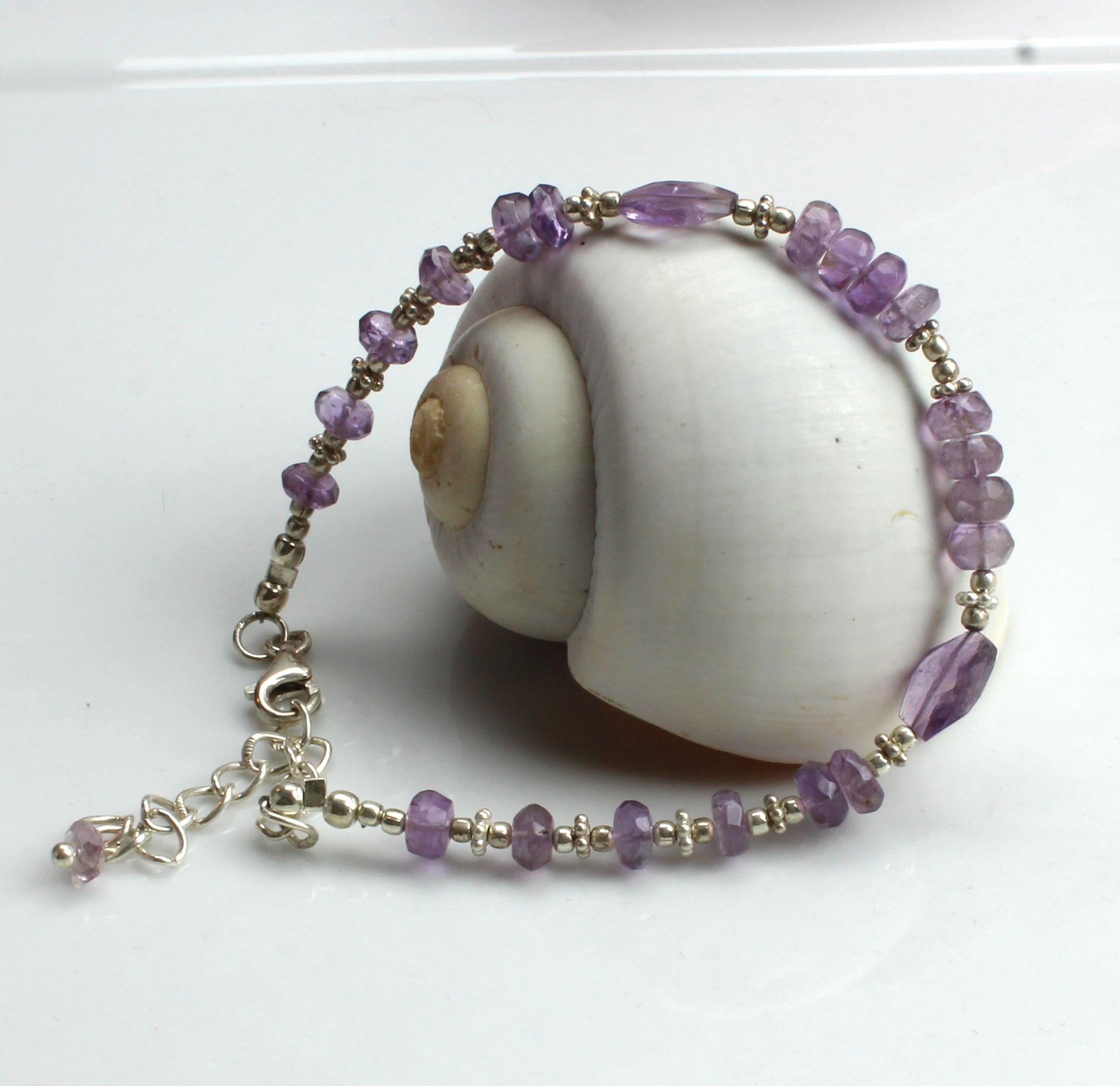 Purple Amethyst Bracelet Found At www.kimberlyhahnstreasures.com