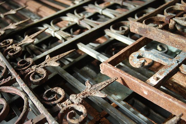 reclaimed iron work
