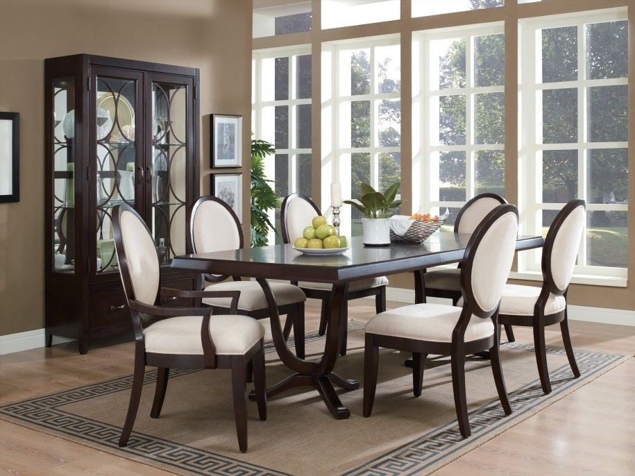 furniture. art deco dining room chairs design: black and white