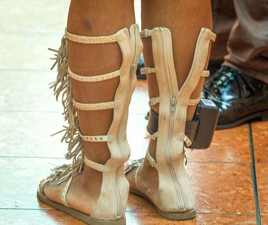 Ankle Monitors Are Everywhere 14 Photos No Way Girl