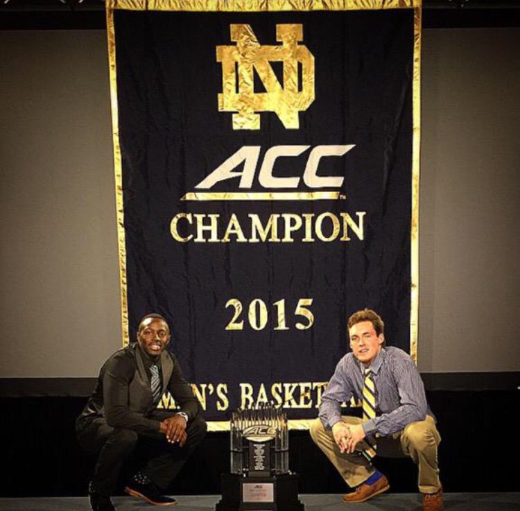 Jerian Grant and Pat Connaughton