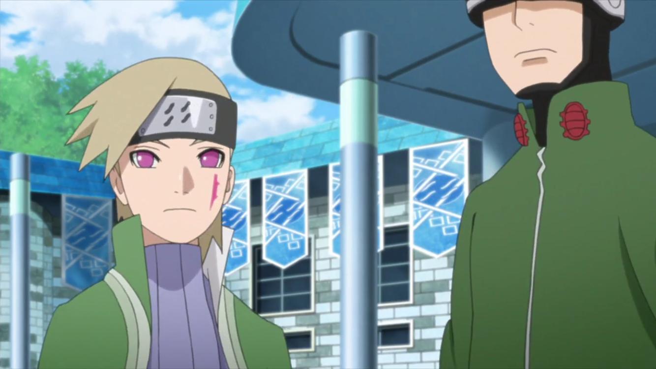 Shino and Kagura || Boruto: Naruto Next Generations | Image ...