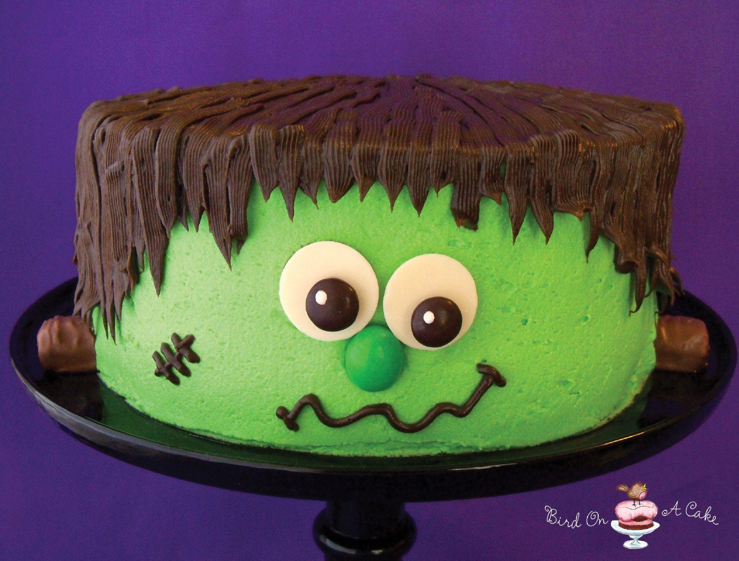 Bird On A Cake Frankensteins Monster Cake holiday ideas