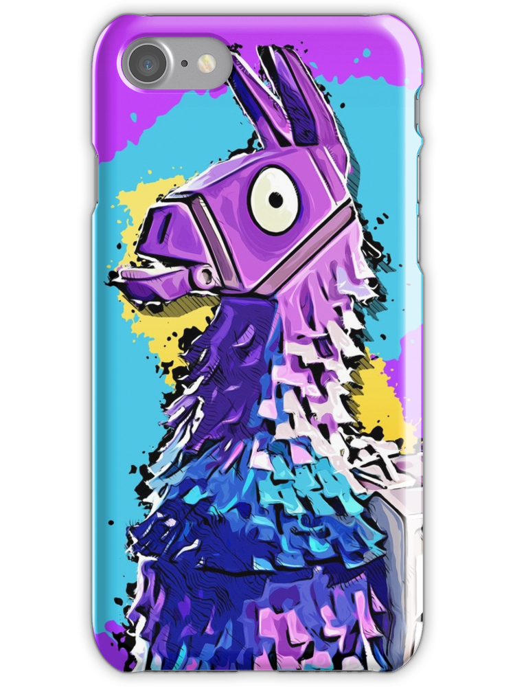 best sneakers 52d2e ec1ae Llama Fortnite iPhone 7 Snap Case | Products in 2019 | Iphone cases ...