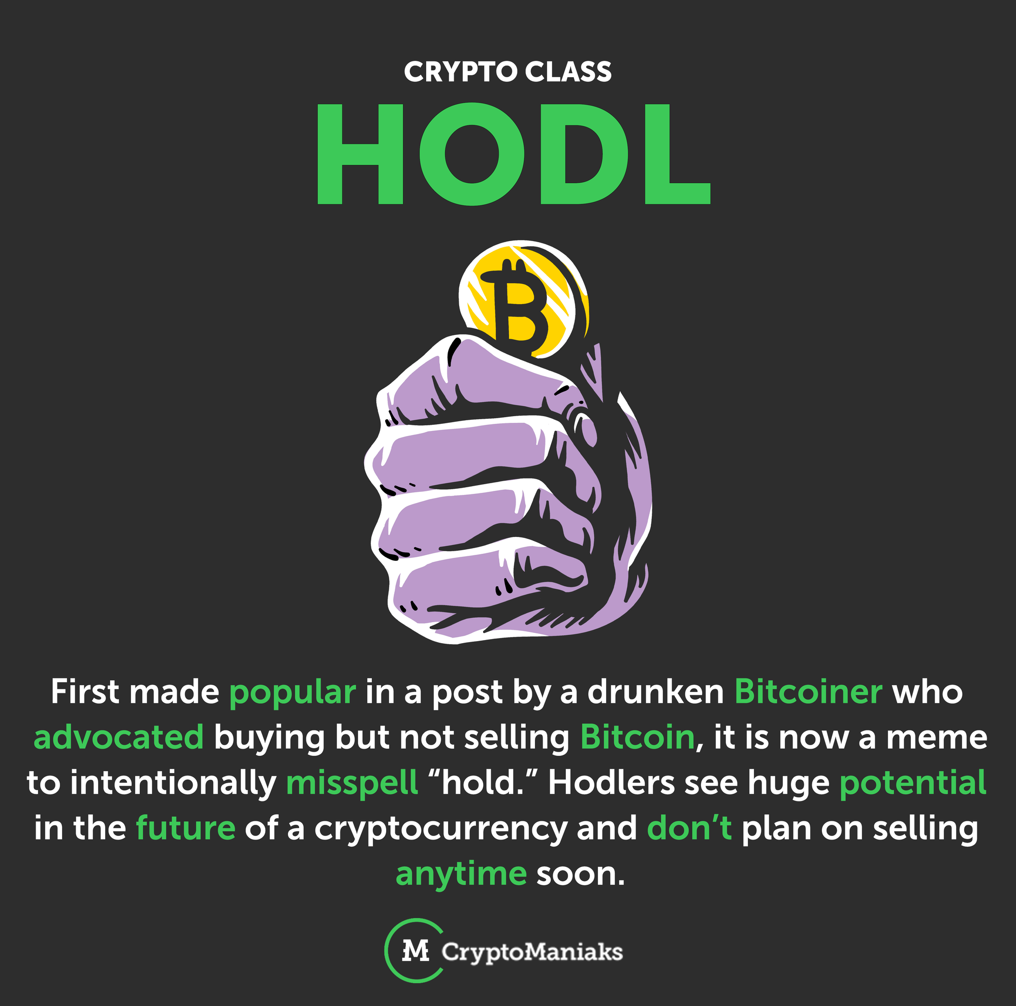 how long to hold cryptocurrency