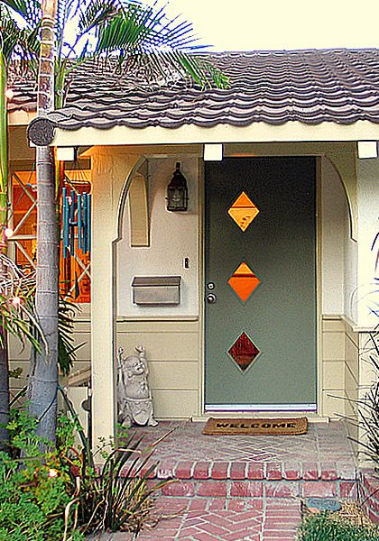 Crestview Doors - Pictures of modern front doors for mid-century modern houses 1950u0027s ranch homes retro ramblers post-war bungalows and new construction & Crestview Doors - Pictures of modern front doors for mid-century ...