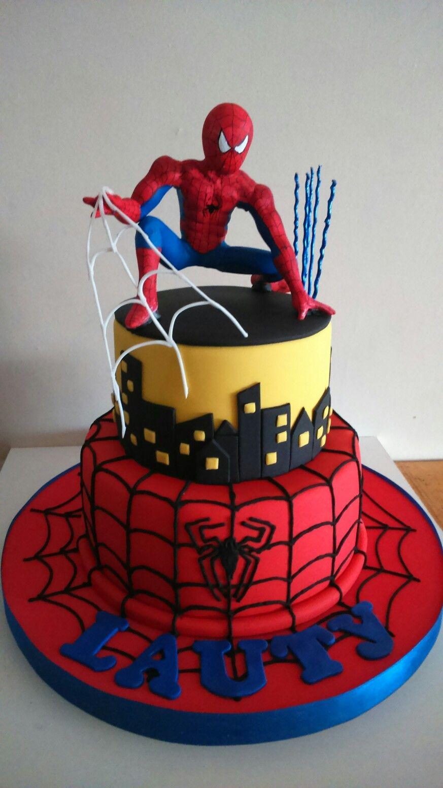 Spiderman cake Spiderman cake, Spiderman cake topper