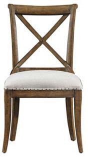 Farmhouse Side Chair, Tobacco/Eggshell