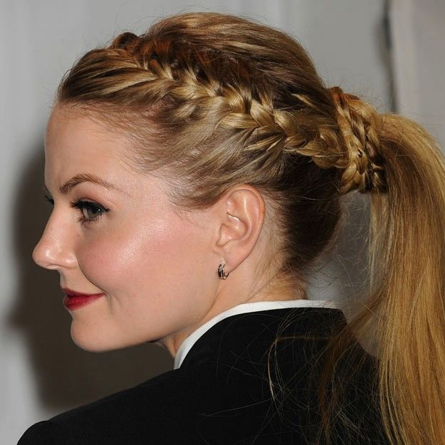 1 Trenza 6 Versiones By Jennifer Morrison Telva Com Hairstyle Braided Hairstyles Peinados Hair Styles