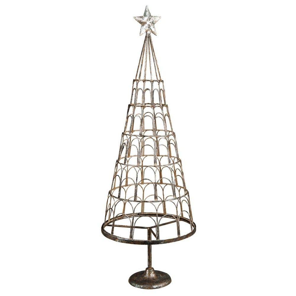 Foreside Home Garden 29in Metal Christmas Tree Card Holder Products