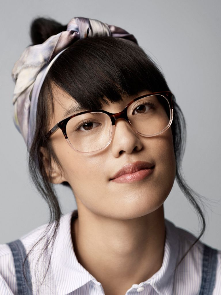 f217339187 Laurel glasses in Tea Rose fade