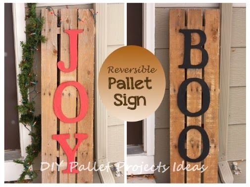 great diy ideas for pallet signs diypalletproject