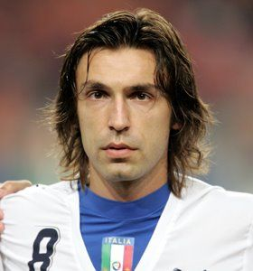 Andrea Pirlo Hairstyles Andrea Pirlo Long Haired Aosbrod Hair Styles