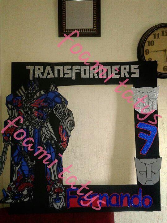 Marco transformers mis marcos pinterest - Decoracion de marcos para fotos ...