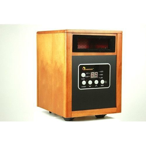 1500w Portable Quartz Infrared Space Heater With Remote