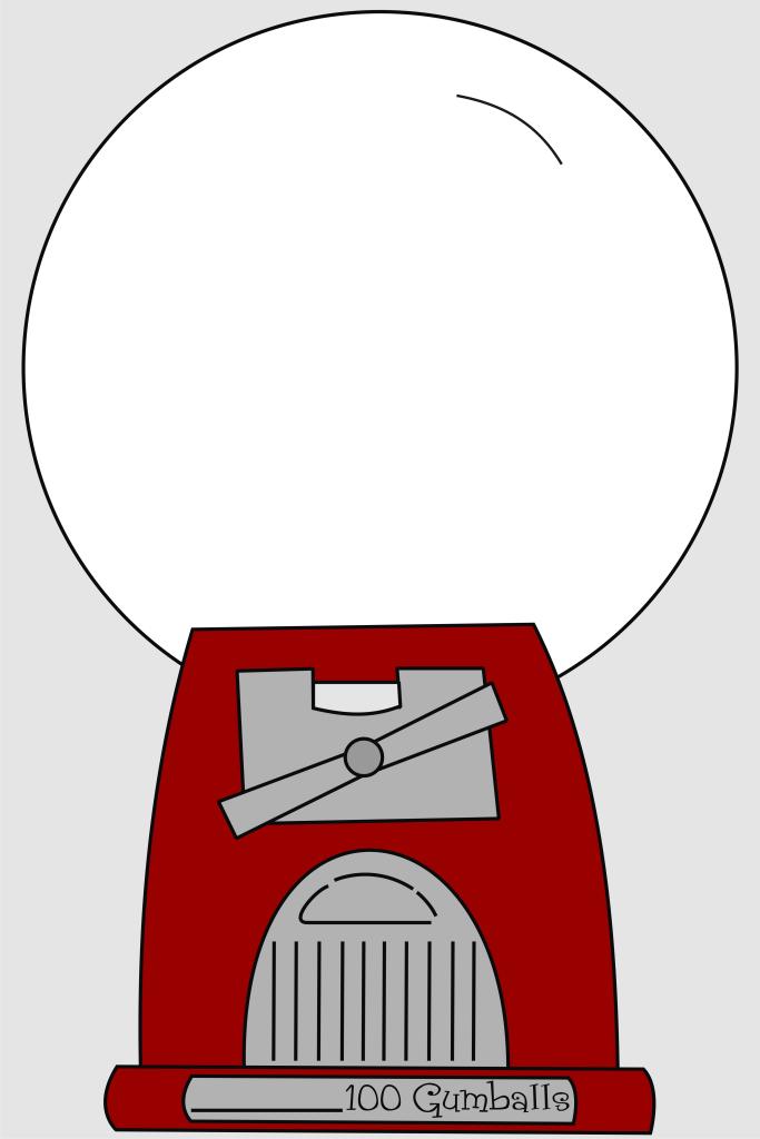 Gumball Machine 12x18 Jpg Box