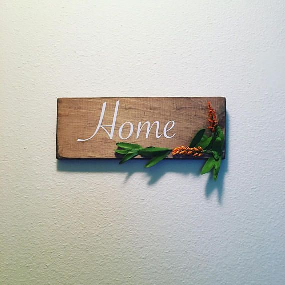 Rustic Sign, Wood Sign, Home Decor, Home Sign, Rustic Home Decor
