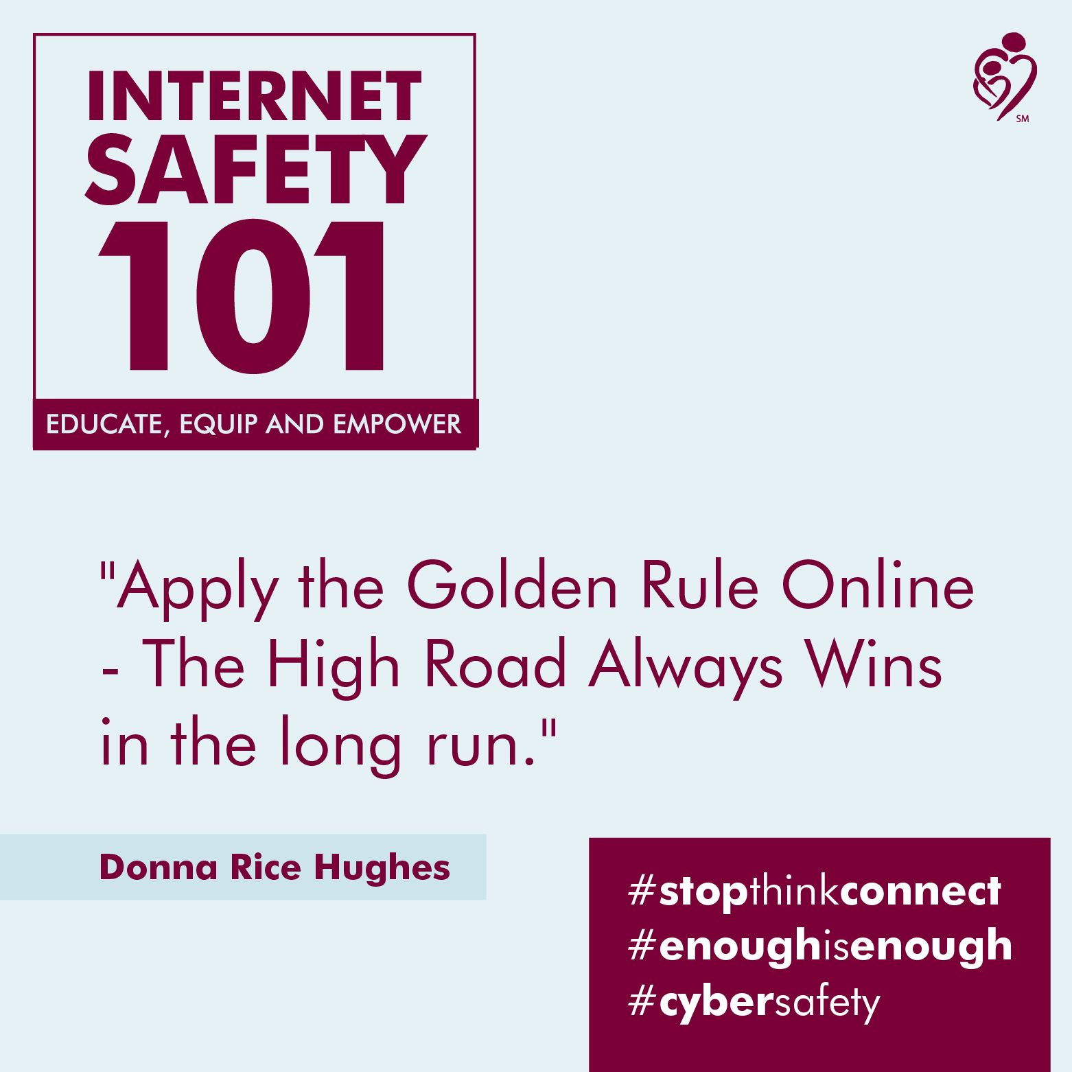 Cyber safety, How to apply, How to run longer