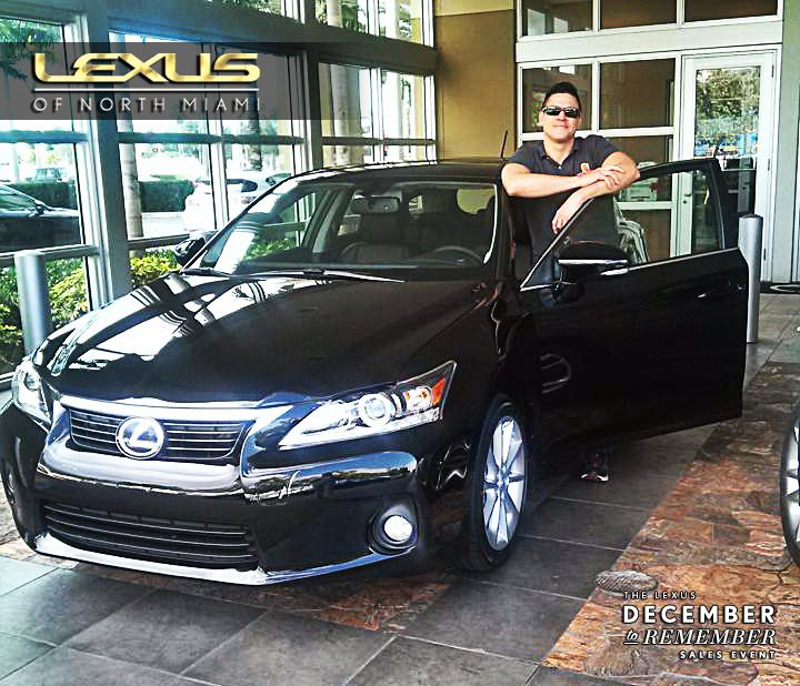 Congrats to david belmar on his new lexus ct 200h hybrid