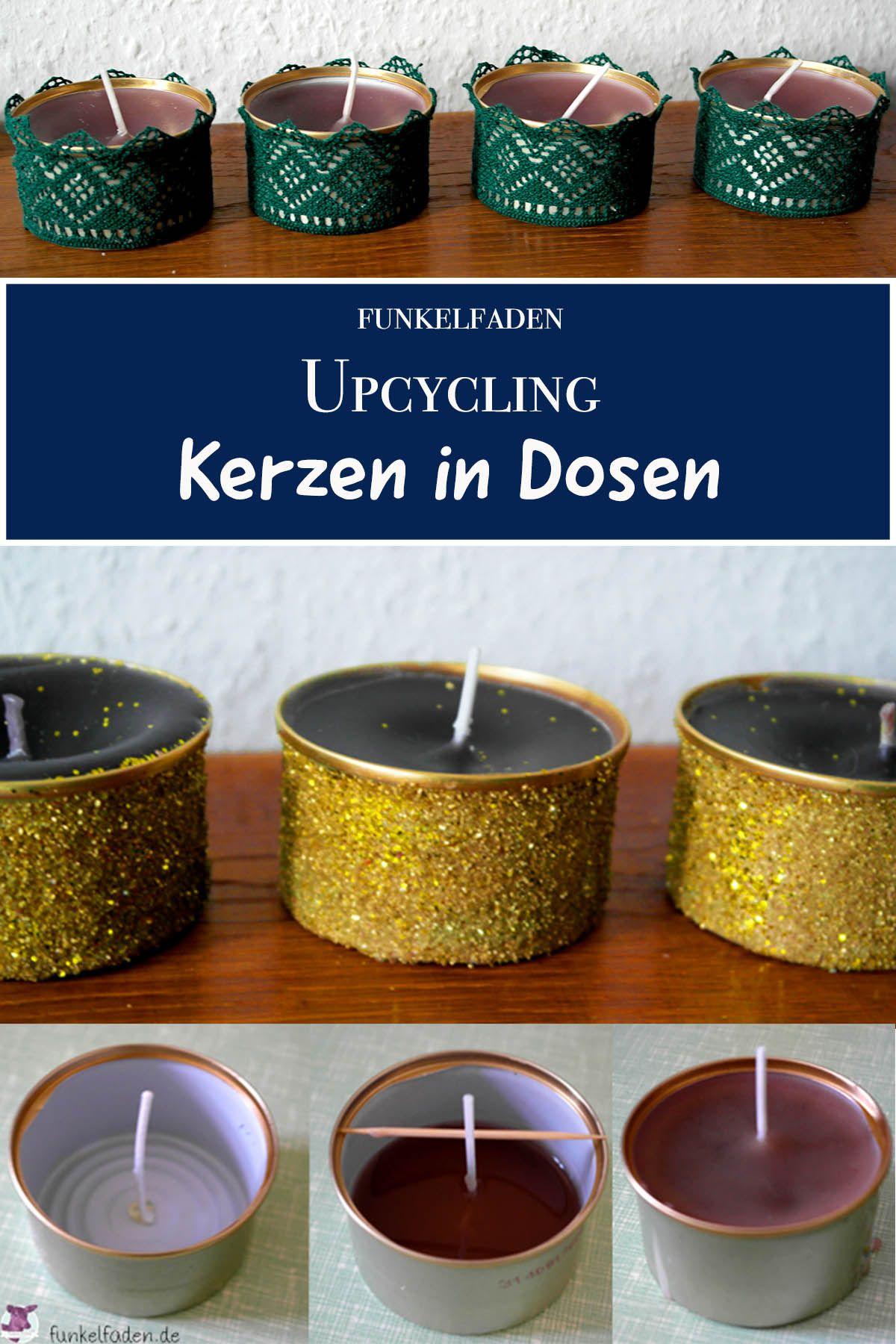 Anleitung Upcycling Kerzen Selber Machen Aus Kerzenresten Und