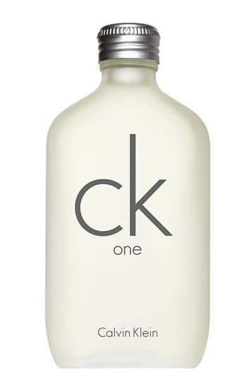 ck one by Calvin Klein Eau de Toilette...oh, hello 90's?!? Haha, I can't believe they still make this! But this is one of those nostalgic scents that bring you back in time. If it made a comeback, I'd be back on it. But for right now it's outdated I have yet to see another unisex fragrance as successful as this once was.