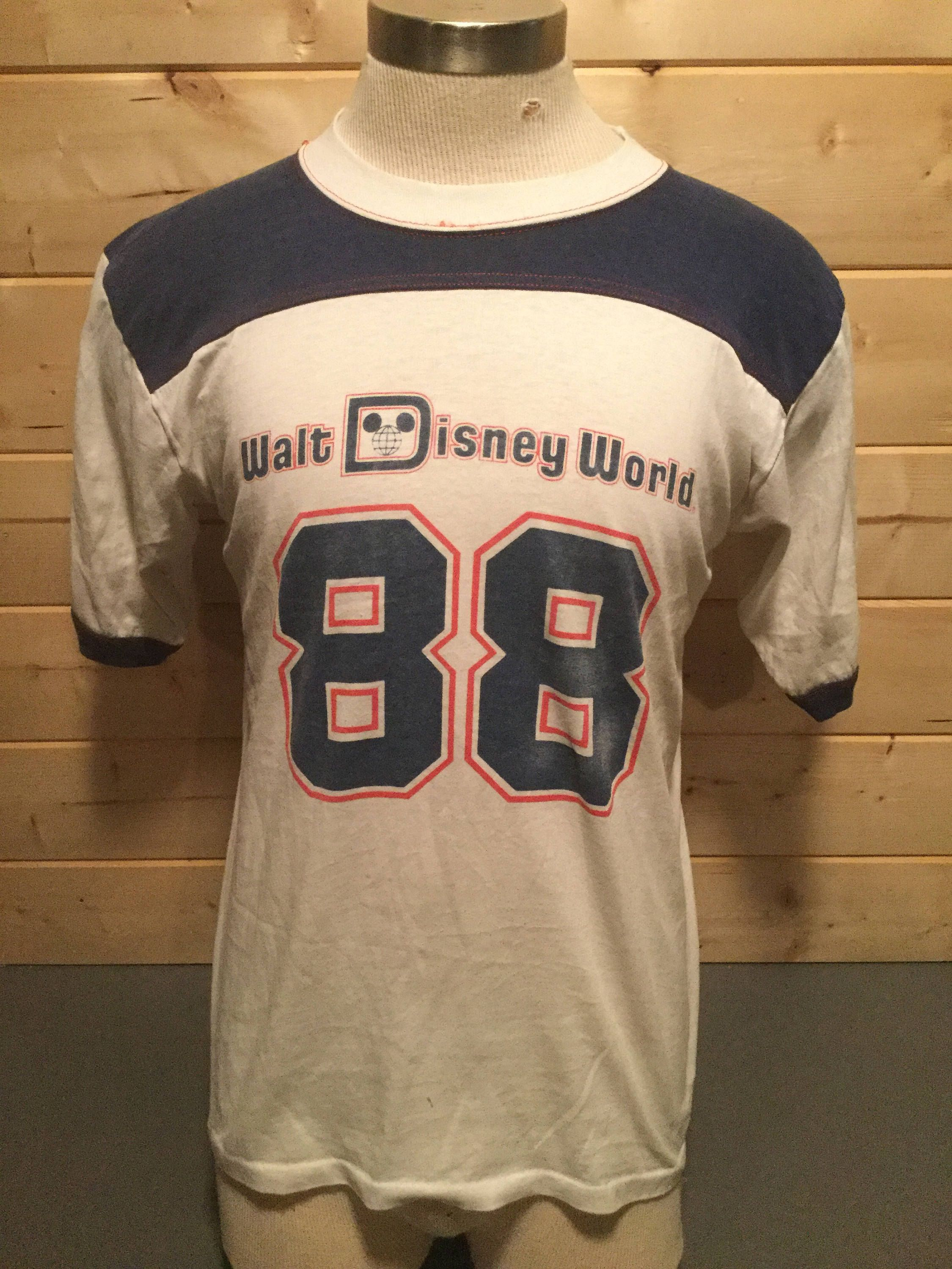 Vintage 1988 Walt Disney World 88 Jersey 50 50 T-Shirt Great Made in USA by  413productions on Etsy 098c65497